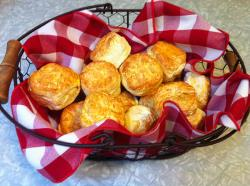 Biscuits in a Basket